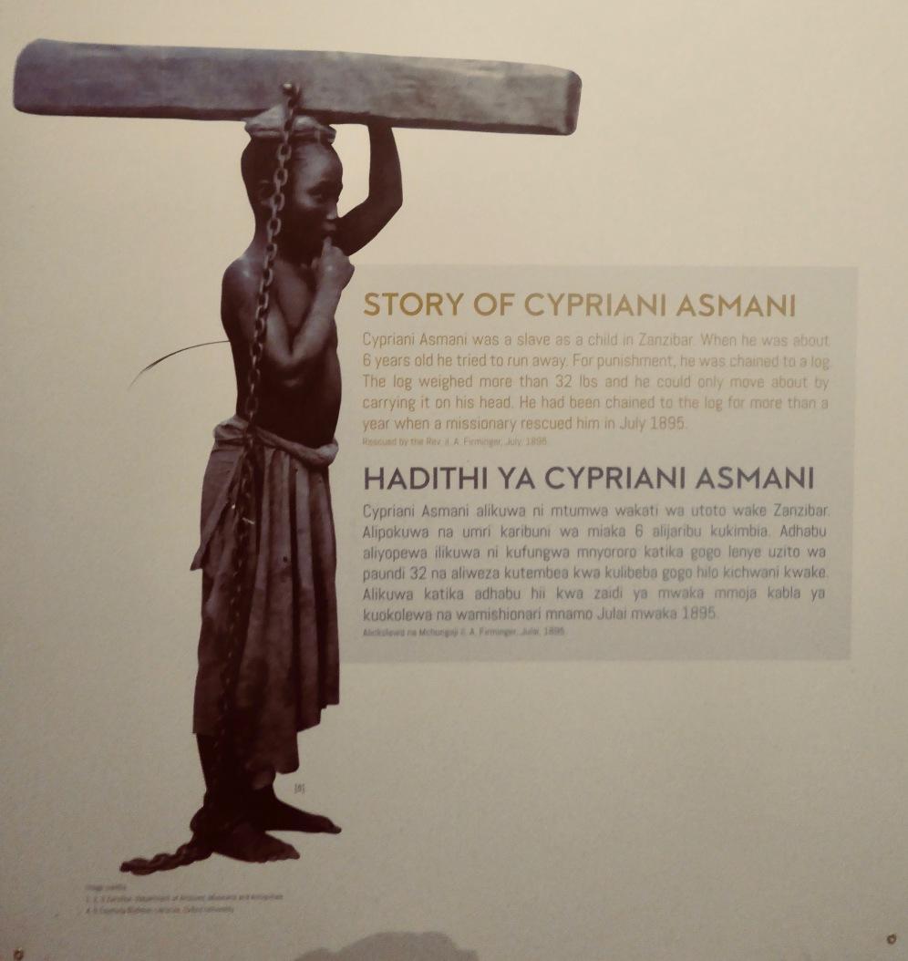 Bilder aus dem Museum für Sklaverei in Stone Town/ Sansibar (Fotos v. Tyma Kraitt)